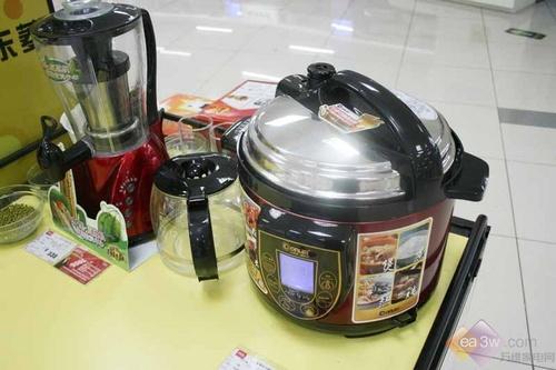 蒸煮炖一锅搞定 东菱压力锅百元优惠