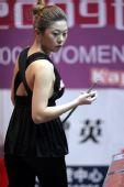 图文:港媒评东亚运美女之最 金佳映衣服有特色