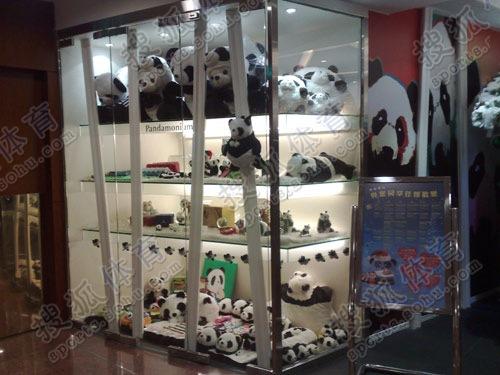 图文:刘翔入住酒店内景 悦来就是panda hotel