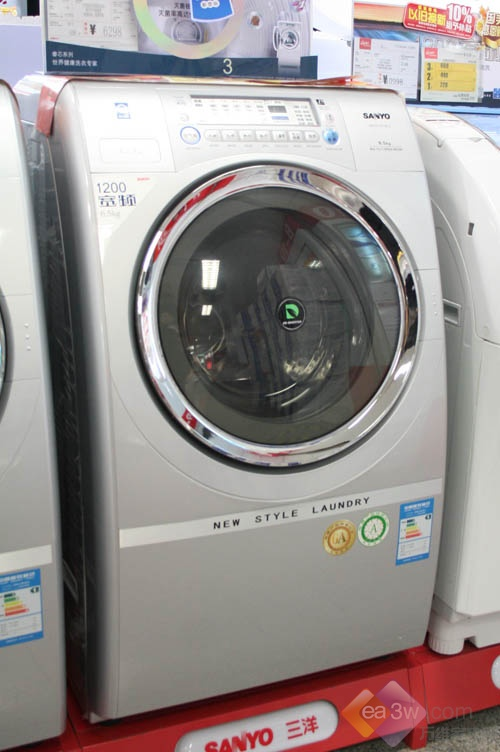 降600 三洋新款变频斜滚筒洗衣机热销