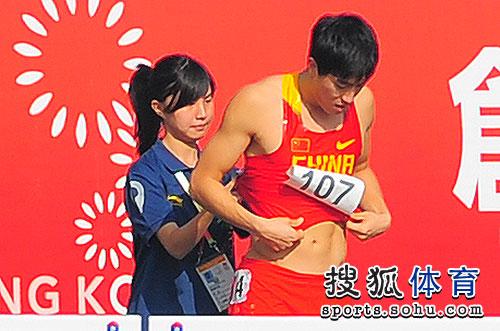 刘翔与美女在一起