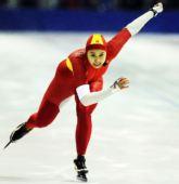 图文:速滑全国青年锦标赛 女子500米赵欣亚军