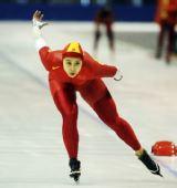 图文:速滑全国青年锦标赛 女子1500米冠军赵欣