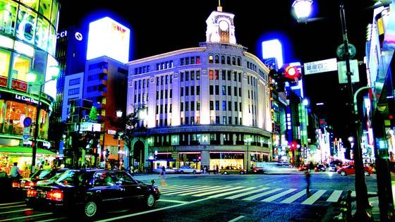 东京,处处可血拼