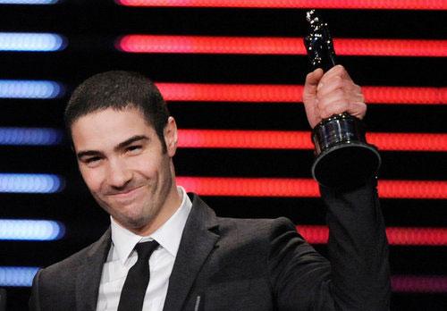 电影男演员_欧洲电影奖颁奖礼 塔哈拉希姆获年度最佳男星