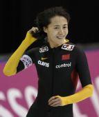 图文:速度滑冰世界杯盐湖城站 王北星夺冠