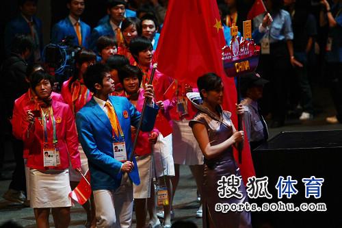 林丹担任中国旗手