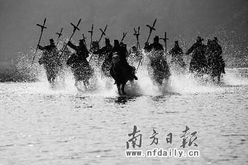 《大秦帝国》的战争场面宏大而精致,有如大片