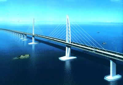 港珠澳大桥可抗风力16级 1.2亿保护白海豚