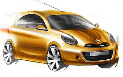 日产全球V-平台的全球入门型车