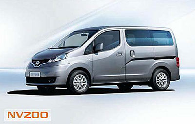 NV200小型厢式车