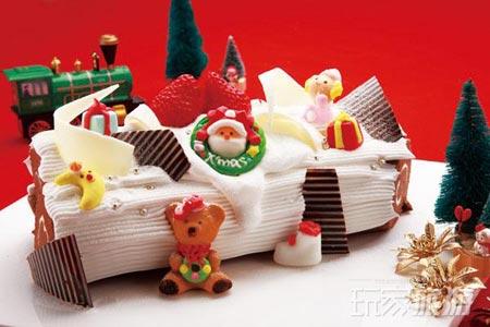 圣诞节甜品 每块背后都有小故事图片