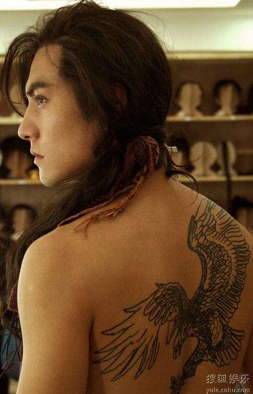 纹身体现古代五种德行图片