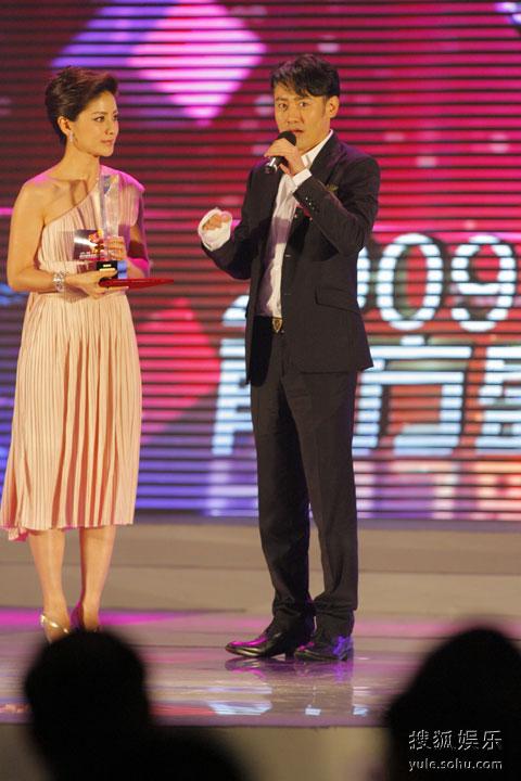 图: 2009金南方最具人气男演员得主吴秀波