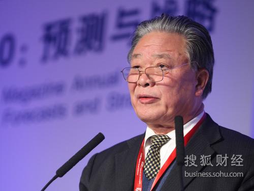 中国民(私)营经济研究会顾问保育钧(摄影:唐怡民)