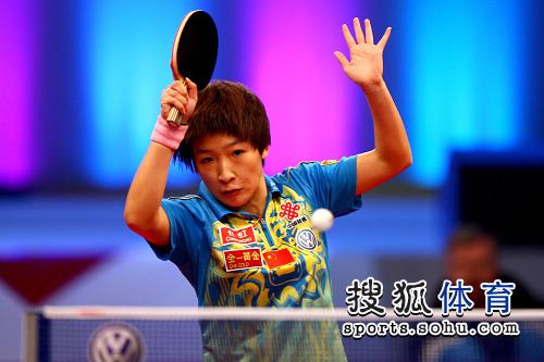 刘诗雯晋级决赛