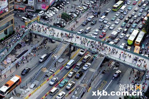 广州BRT线路新方案出台 增四条BRT高峰快线图片