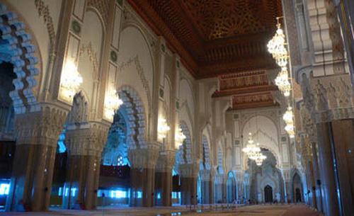 卡萨布兰卡市内有许多伊斯兰风格建筑