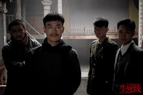 廖凡(左二)演《生死线》到想吐