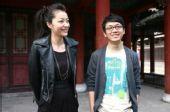 开机仪式:熊黛林、潘粤明笑容灿烂