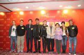 香港杀青宴:众星合影2