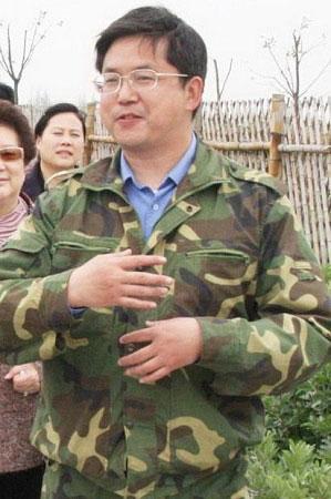 上海市前工商联副主席、上海金源公司董事长周跃进