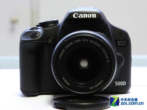 配18-55镜头 佳能500D套机元旦低价促销