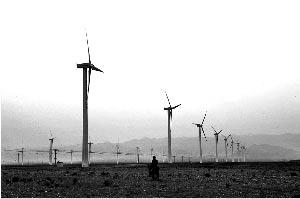 贺兰山风电场