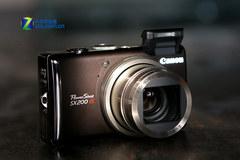 超便携防抖长焦 佳能SX200 IS促销送配件