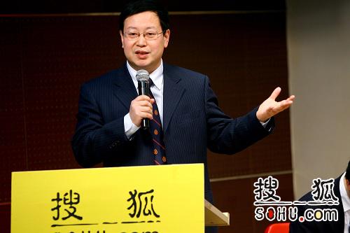 北京大学外国经济学说研究中心副主任夏业良(搜狐-李志岩/摄)