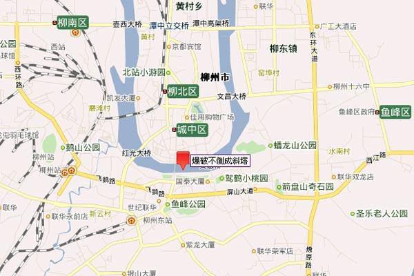 广西柳州爆破高楼失败