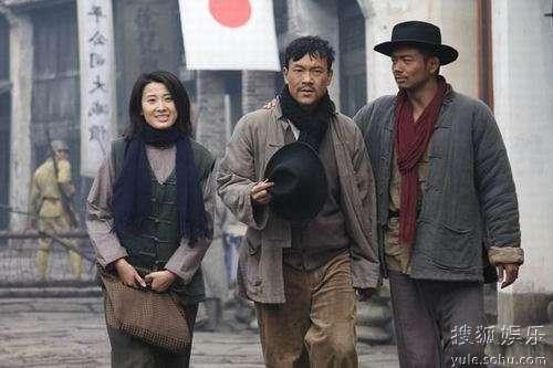 从左至右:吕夏、廖凡、杨烁