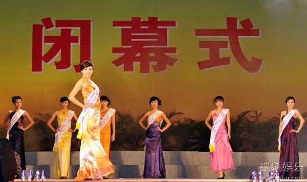 国际旅游小姐东莞赛区的佳丽们