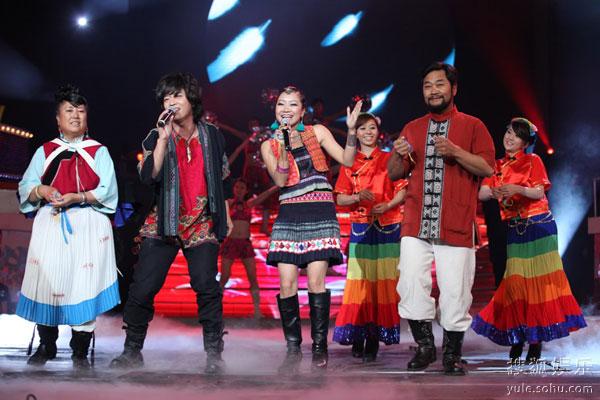 达坡玛吉家庭表演