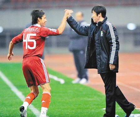 张琳芃创造国足纪录 首次登场就进球最年轻国脚