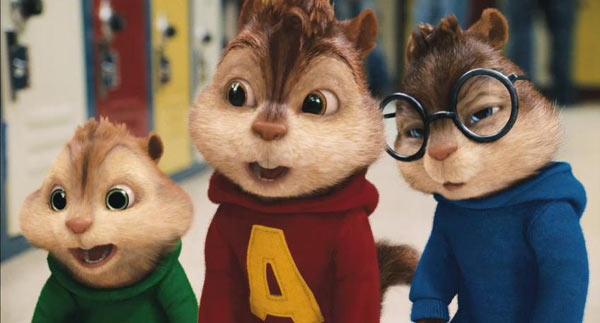 《阿尔文和花栗鼠2》虽然口碑不佳,但是票房成绩不错