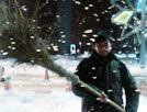 大雪停课后遮不住的兴奋