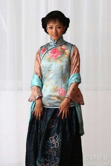旗袍展现传统中式风