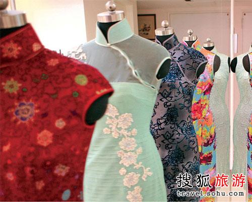 足衣:做工考究的精致旗袍