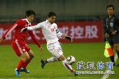 图文:[亚预赛]国足0-0叙利亚 赵鹏防守不及
