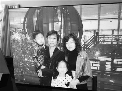 曾经幸福的一家子。