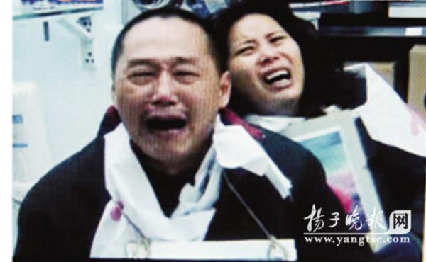 伤心欲绝的霍桂婷父母。李海勇 摄