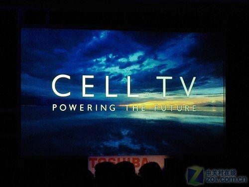 内置8核处理器!CES东芝发布Cell TV