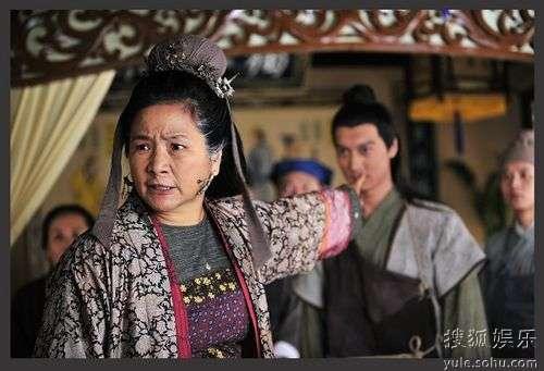 郑佩佩《衣被天下》中饰演恶婆婆