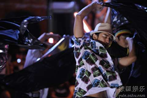 《精舞门II》陈柏霖街舞秀