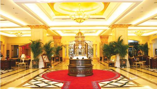 桂景大酒店大堂