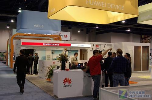 CES大展:众多3G手机新品曝光华为展台