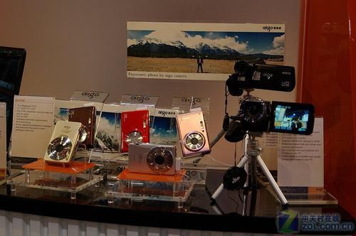 CES2010:爱国者数码相机亮剑电子消费展