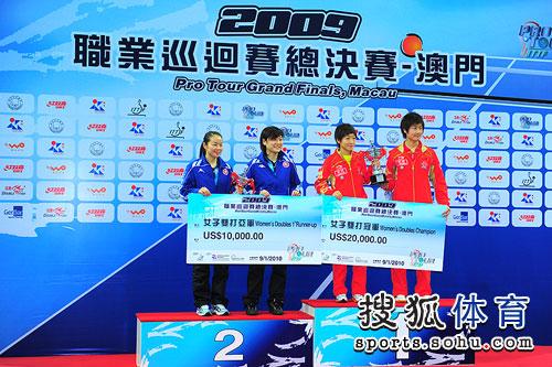刘诗雯丁宁夺冠