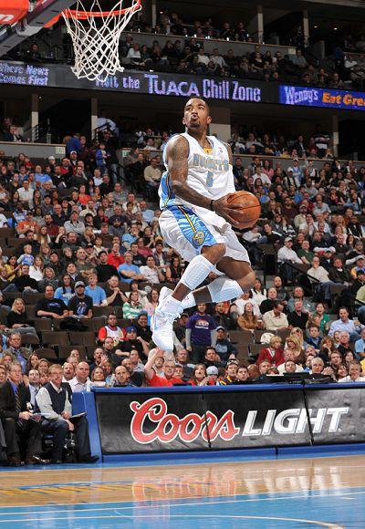 JR史密斯上篮